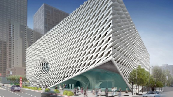 New hotels, shops and restaurants are reinvigorating downtown LA. In 2015, The Broad's honeycomb-like museum will open.