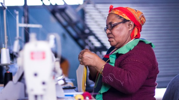 Reusing upcycled plastic waste to produce backpacks for pupilis was a completely foreign concept to the town and the entrepreneurs have spent a lot of time to ensure their staff are well-trained.