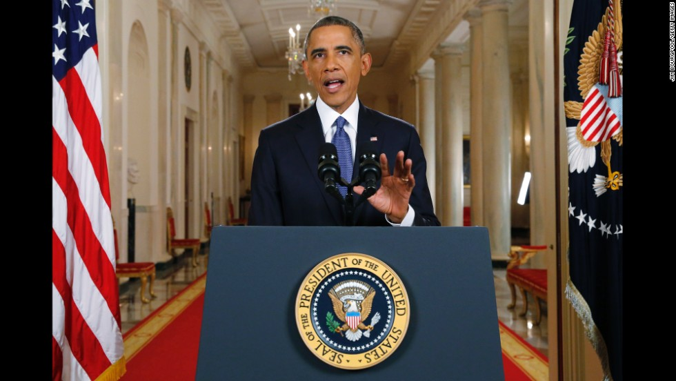 "<strong>November 20:</strong> U.S. President Barack Obama announces executive actions on the country's immigration policy during <a href=""http://www.cnn.com/2014/11/20/politics/obama-immigration-speech/index.html"">a nationally televised address</a> at the White House. Obama is ordering the most sweeping overhaul of the immigration system in decades, despite Republican claims he is acting illegally by moving unilaterally to shield 5 million undocumented immigrants. Obama rejected accusations by conservatives that he is offering a free pass to undocumented immigrants and warned in a prime-time address that he would bolster border security and make it harder for unauthorized outsiders to get into the country."