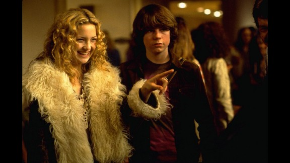 """""""Almost Famous"""" (2000): Kate Hudson and Patrick Fugit star in Cameron Crowe"""