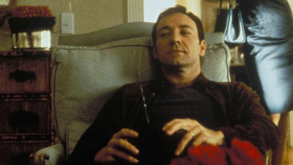 """""""American Beauty"""" (1999): Kevin Spacey stars in this Oscar-winning film that tells the story of a suburban father in the middle of a midlife crisis who becomes obsessed with his teen daughter"""