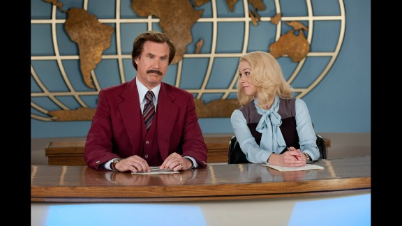 """""""Anchorman 2: The Legend Continues"""" (2013): Will Ferrell, Christina Applegate and more return in this sequel to 2004"""