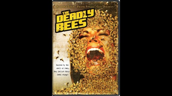"""""""The Deadly Bees"""" (1966):  A pop singer battles deadly bees in this campy horror film. (Amazon)"""