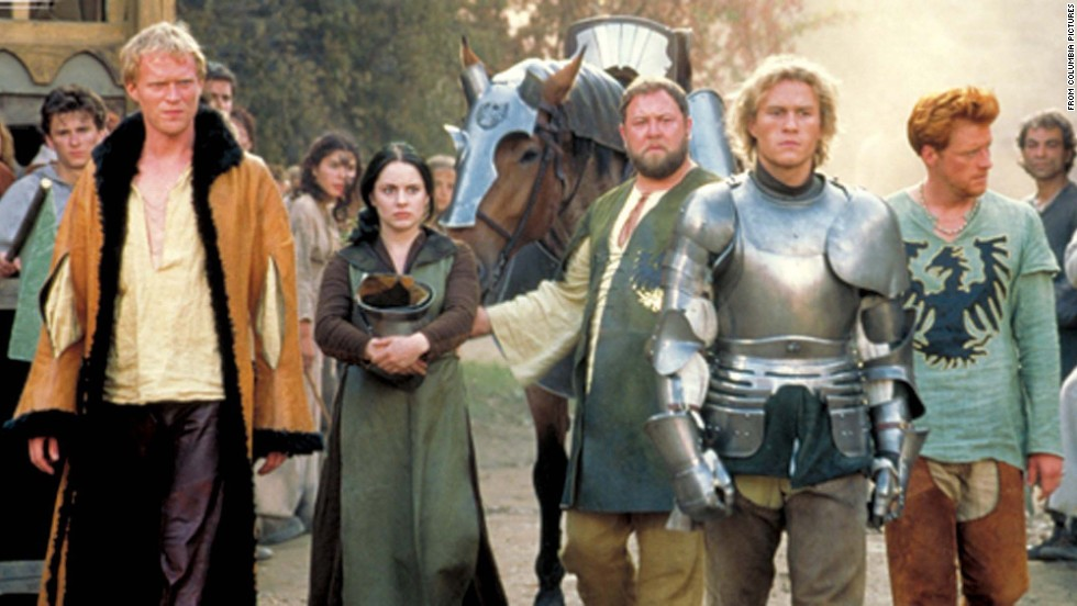 "<strong>""A Knight's Tale""</strong> <strong>(2001):</strong> A squire pulls himself up to become a knight in this drama which takes its title (but not the story) from Chaucer's ""The Knight's Tale."" <strong>(Netflix)</strong>"