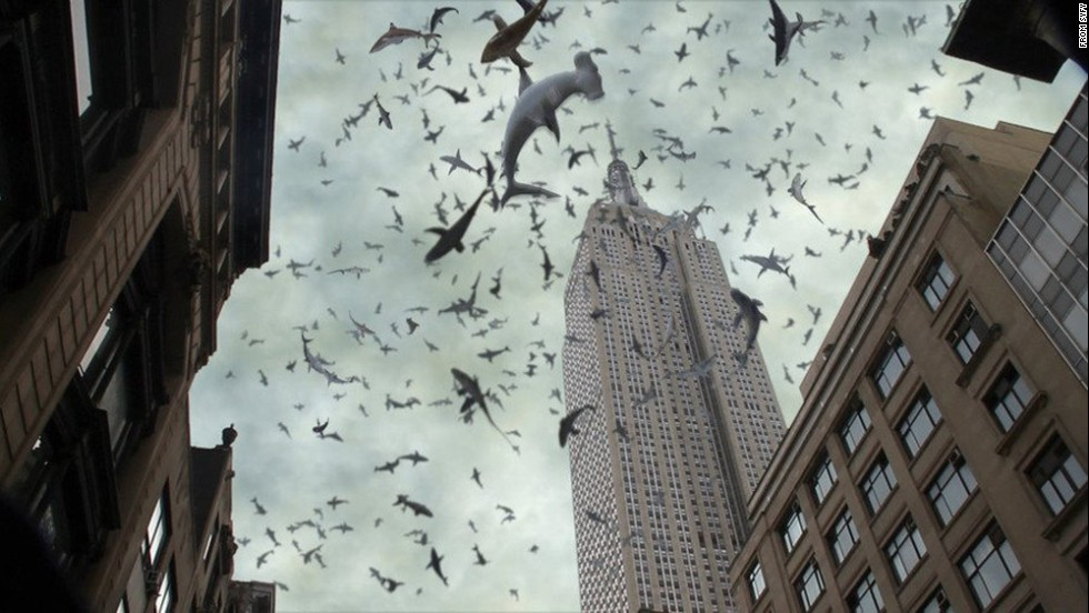 "<strong>""Sharknado 2: The Second One"" (2014): </strong>The sequel to the wildly popular Syfy TV movie finds a freak storm of sharks attacking the Big Apple. <strong>(Netflix)</strong>"