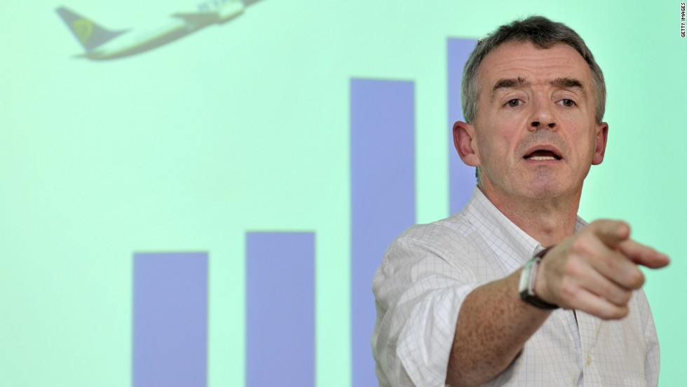 Michael O'Leary, CEO of low cost airline Ryanair, has often gone after critics without any impact on the company balance sheet.