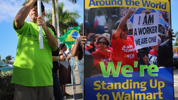 Wal-Mart has continued to thrive despite frequent protests from employees and consumers over suspect practices.