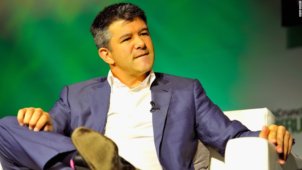 Controversial CEO Travis Kalanick is under pressure to quit.