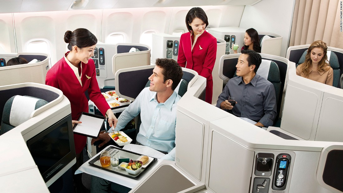 One of the top 10 safest airlines, Cathay Pacific received seven stars from AirlineRatings.com for safety and product.