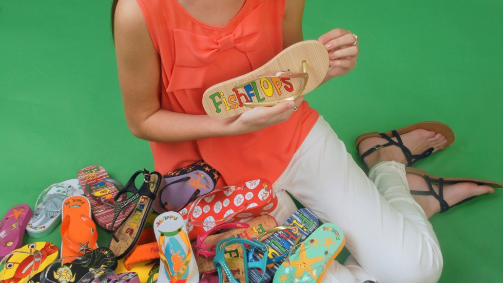 Madison's FishFlops empire began when she was aged just eight. Now 16, she has taken the business to the mass market