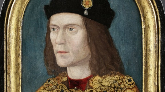 DNA tests suggest Richard III had blue eyes and fair hair, meaning the Society of Antiquaries portrait is likely to be the closest to his real appearance