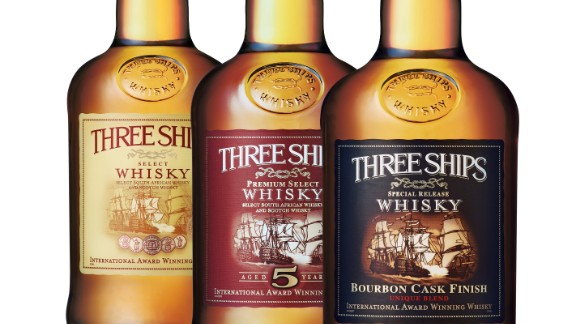 In 2012 Three Ships Whisky, which is made at the James Sedgewick Distillery, was awarded the title of World