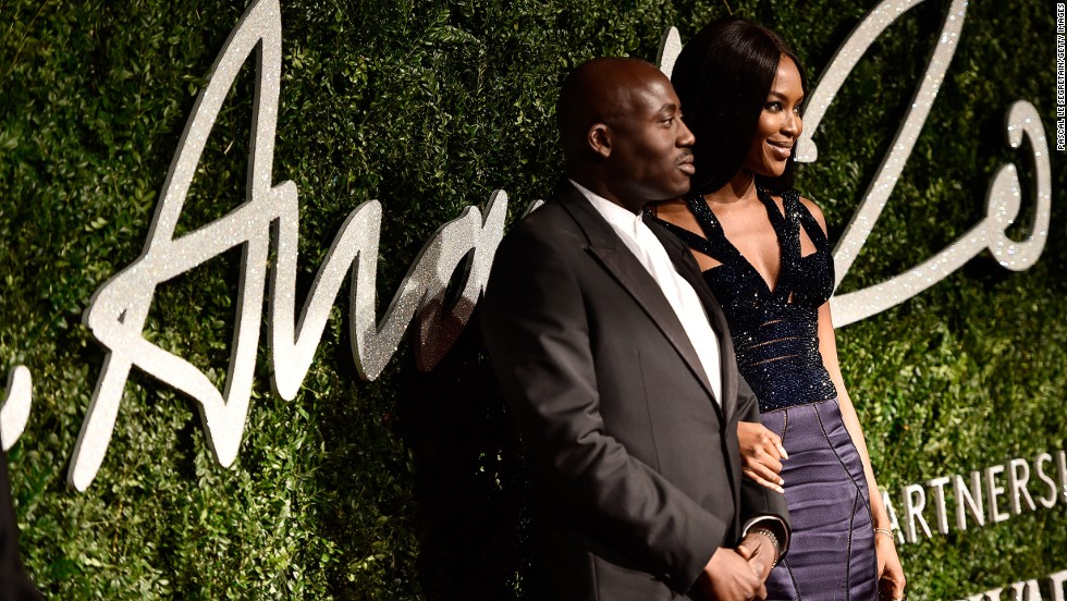 Ageless model Naomi Campbell presented Edward Enninful, the fashion and style director at <em>W </em>magazine, with the Isabella Blow Award for Fashion Creator. The award recognizes Enninful's contributions to the global fashion industry over the years, from his beginnings as <em>i-D</em>'s youngest fashion editor at 18, to his work with brands like Gucci and Christian Dior.