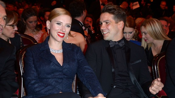 Scarlett Johansson and French journalist Romain Dauriac were married for more than a month before the rest of the world caught on. According to Gossip Cop, the couple set off for Philipsburg, Montana, to tie the knot in secret on October 1.