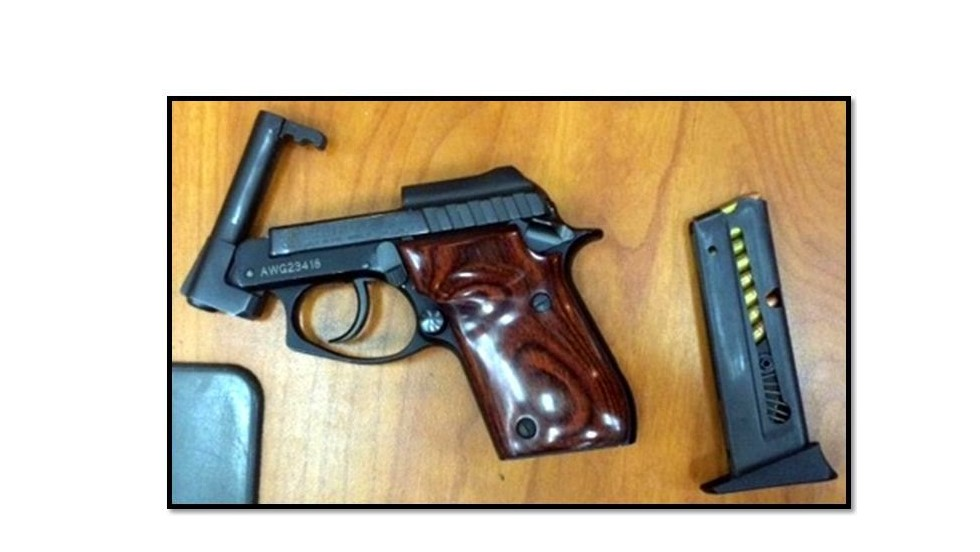 Many travelers claim they forgot that their guns, like this one seized at Hartsfield-Jackson Atlanta International Airport, were in their carry-on luggage. They can still face criminal charges.