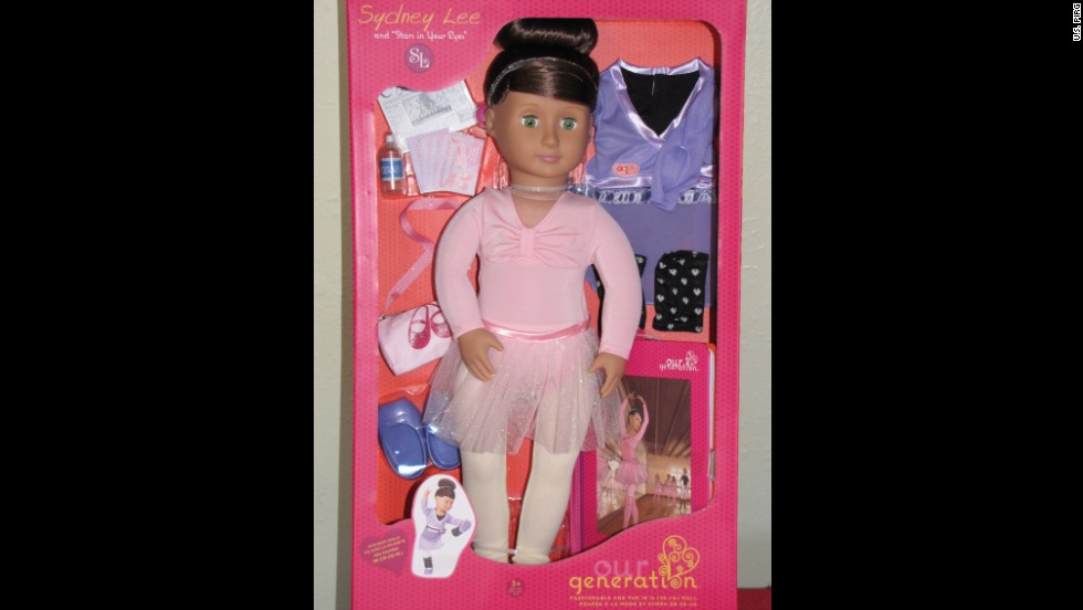 "It's not the doll, but the yo-yo that comes with the Our Generation: Sydney Lee and ""Stars in Your Eyes"" doll that could be a choking hazard for small children."