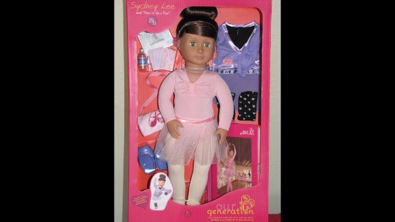 """It's not the doll, but the yo-yo that comes with the Our Generation: Sydney Lee and """"Stars in Your Eyes"""" doll that could be a choking hazard for small children."""