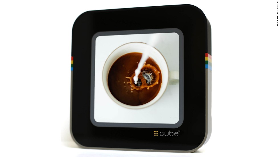 "Don't know what to get parents who are always on the move or kids who seem to have everything? Click through for some unique gifts that will delight and impress, such as #Cube, a digital frame that cycles through your Instagram feed. Amanda Rodriguez, founder of the blog <a href=""http://dudemom.com/"" target=""_blank"">Dude Mom,</a> says it's perfect for moms who snap hundreds -- or make that thousands -- of pics on Instagram. ($149.00)"