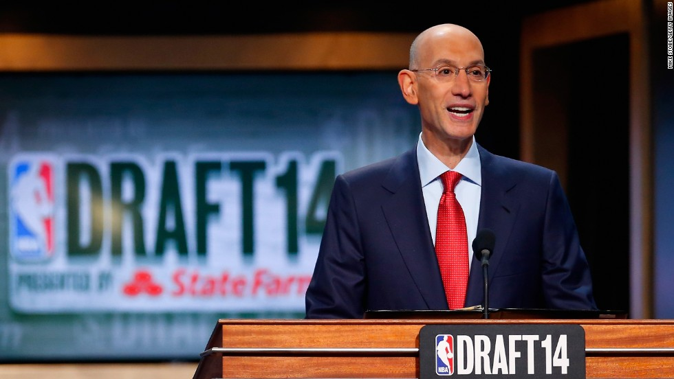 "Newly minted NBA Commissioner Adam Silver <a href=""http://www.cnn.com/2014/04/29/us/nba-adam-silver/"">drew raves in April for his decisive handling</a> of Donald Sterling, the Los Angeles Clippers owner who caused an uproar around the league when he was discovered making racist comments about blacks. Silver levied a $2.5 million fine against Sterling and banned him from the league for life."