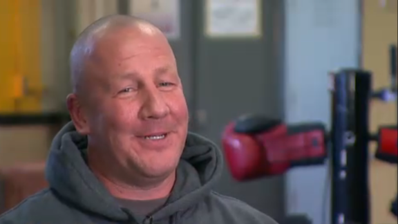 Jack Mook, a Pittsburgh police detective, befriended two boys several years ago at a boxing gym where he coached. After he discovered that the boys, who are brothers, were living in foster care and on the streets, he adopted them in September. Mook is single and raising the boys himself.