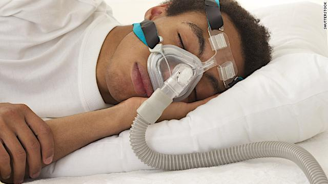 CPAP machines apply mild air pressure to keep your airways open while you sleep.