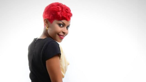 """Kenyan artist Size 8 recently moved into gospel music -- but despite the change she is still topping the charts with her current hit song """"TamTam remix."""" She is married to top Gospel Deejay MO."""