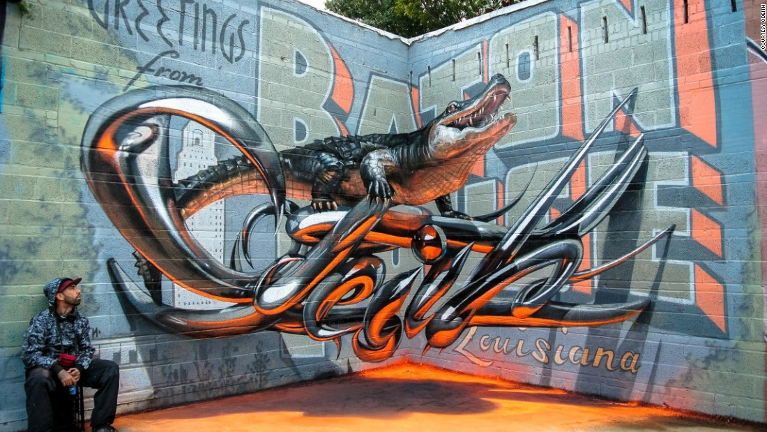 3d Street Art Photos Whats The Secret Behind These Eye Popping