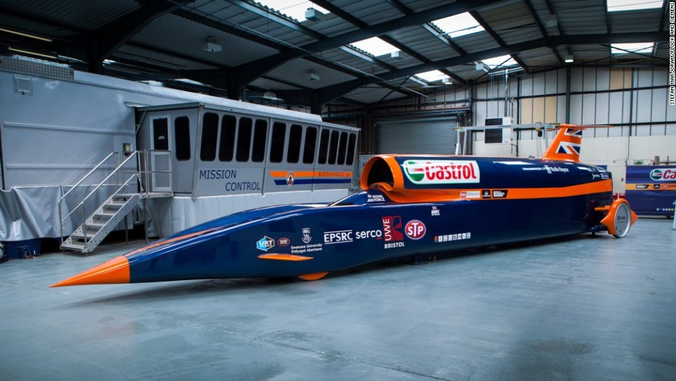 Made of titanium, carbon fibre and designed to go faster than a speeding bullet, the Bloodhound SSC has been painstakingly put together and tested over the better part of six years.