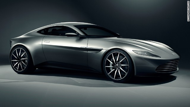 Aston Martin together with EON Productions, the producers of the James Bond film franchise, unveiled Bond's stunning new car, the Aston Martin DB10, on the 007 stage at Pinewood Studios.