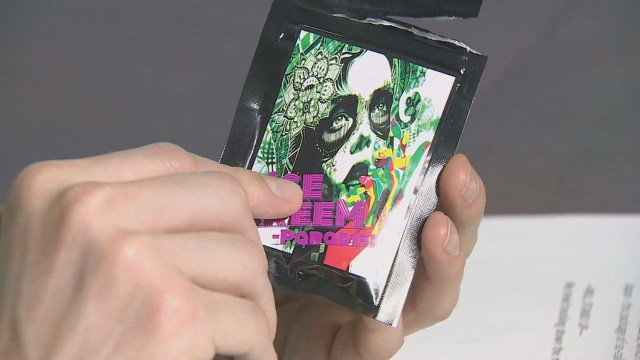 Dangerous 'fake pot' for sale in Japan
