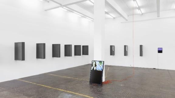The Installation is located at the Kunst Halle in St.Gallen, Switzerland.