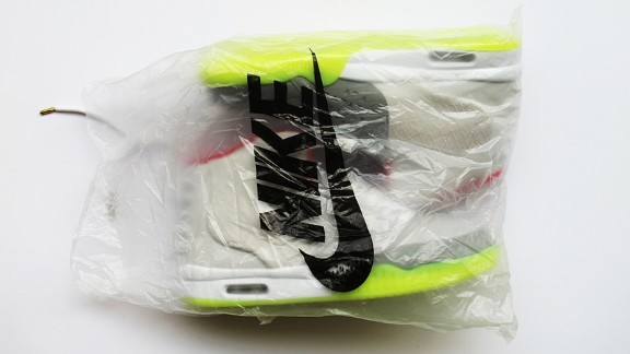 """The model is """"Air Yeezy 2."""""""