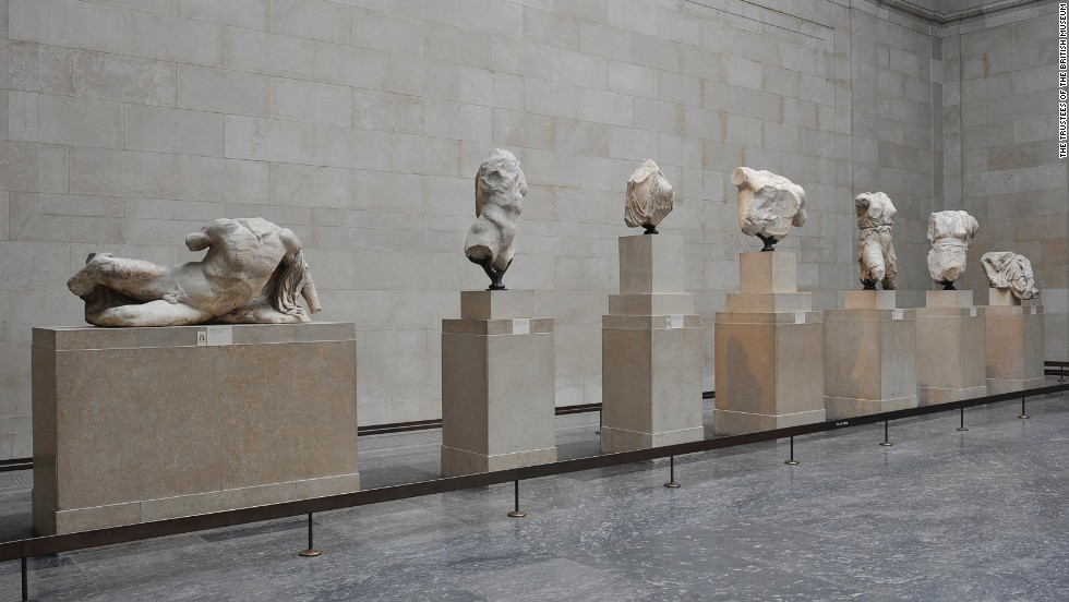 who owns the elgin marbles precis The elgin marbles are some of the most controversial items in a  pressure for  the return of the marbles to greece has been growing,  although the precise  level of damage is disputed by campaigners in britain and greece.