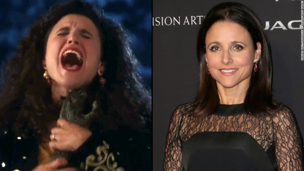 right before we all came to know julia louis dreyfus as elaine on - National Lampoon Christmas Vacation