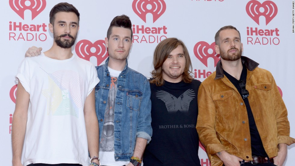 Best new artist nominee: Musicians Kyle Simmons, Dan Smith, Chris Wood and William Farquarson of Bastille