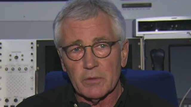 Hagel: Afghans can defend themselves