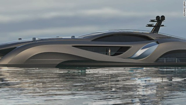 See the 'Batmobile' of yachts