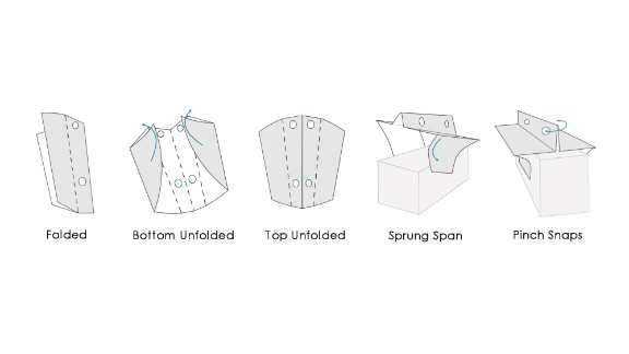 Soarigami takes its cues from Japanese paper folding to create the armrest divider from a sheet of plastic.