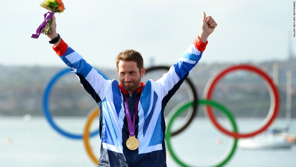 It was befitting that the fourth gold for Ainslie should come in front of his home crowd in Weymouth, England.