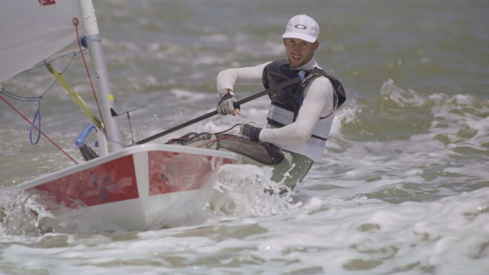 Ainslie came to prominence at the 1996 Olympics in Atlanta, where he won silver in the laser class.