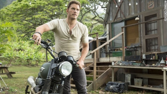 "Chris Pratt stars as Owen in this summer's ""Jurassic World."""