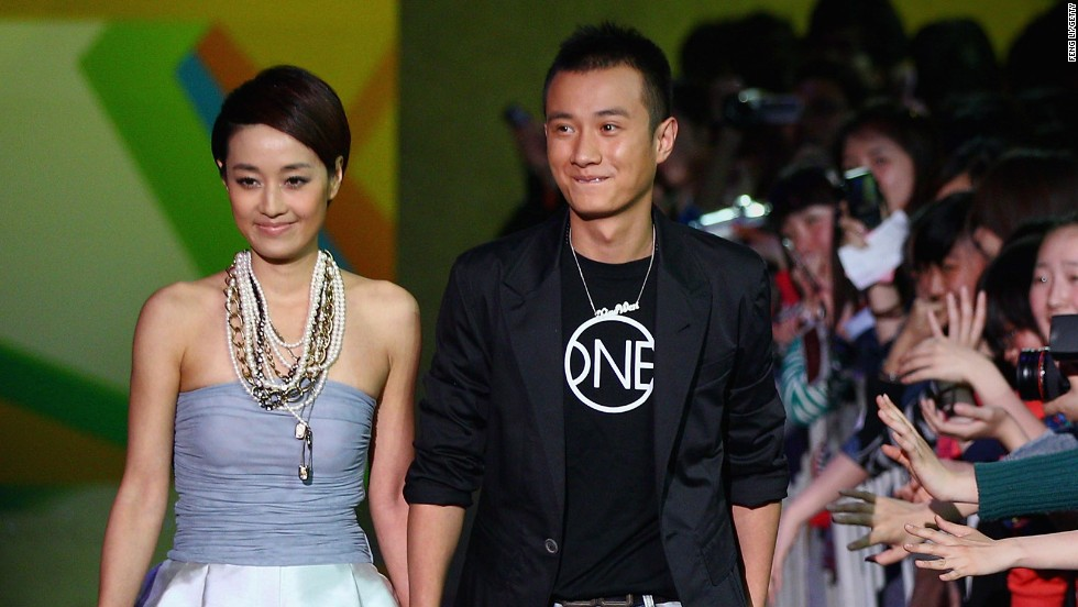 "When star actor Wen Zhang, right, went public with his marital problems on Weibo in April it smashed all social media records, although perhaps not in a way he's proud of. Caught cheating on his then pregnant wife with a co-star, Wen's heartfelt apology attracted record numbers of comments and shares. But it was wife Ma Yili's (left) philosophical response that became an Internet meme: ""Being in love is easy, being married is not. It is to be cherished,"" she tweeted in a phrase that has been widely mimicked. ""Buying a new car is easy, getting a license plate is not. It is to be cherished,"" wrote one wag about Beijing's notorious car registration lottery."