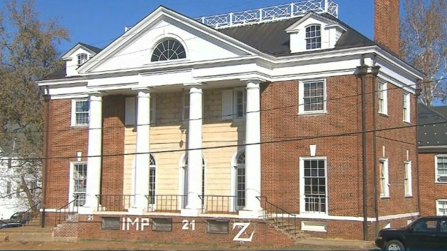 In the now-discredited Rolling Stone article, a woman claimed she was raped at the UVA Phi Kappa Psi fraternity house.