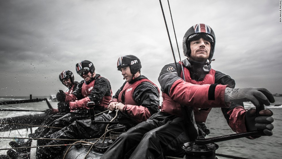Already, his crew are tackling the first test boat and feeding back to designers at their Portsmouth base to see how the boat can be bettered.