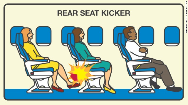 Who are the most annoying airplane passengers?