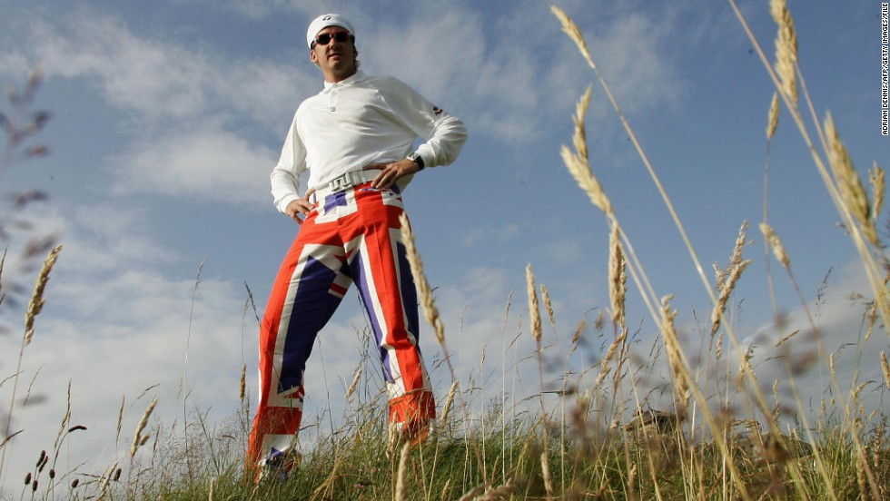Ian Poulter is a golfer who has shot to prominence for his achievements on the course and his passion for fashion. At the Open Championship in 2004, Poulter grabbed the headlines for turning out at the Royal Troon Golf Club in Scotland wearing a pair of bright, Union Jack trousers. The Briton's love of fashion led to him launch his own clothing label, IJP Designs.