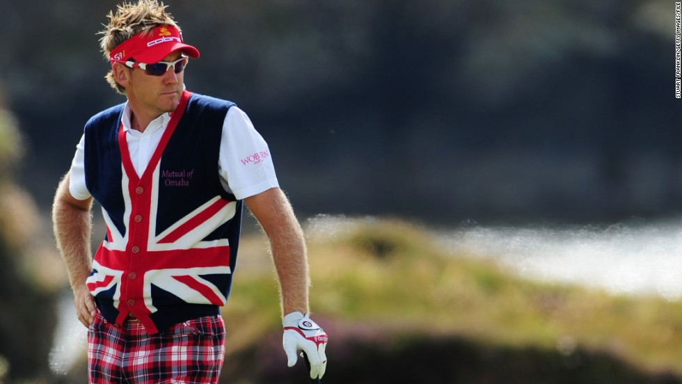 Clearly a fan of the British flag, Poulter sported it once again at the 2009 Open Championship in the form of this nifty vest.