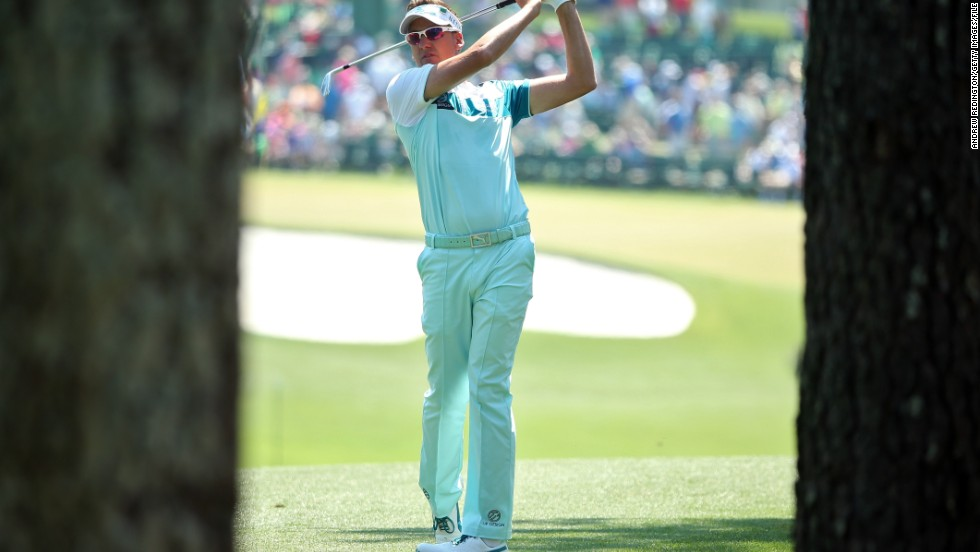 At the Masters earlier this year, Poulter looked in mint condition as he graced the famous Augusta National course.