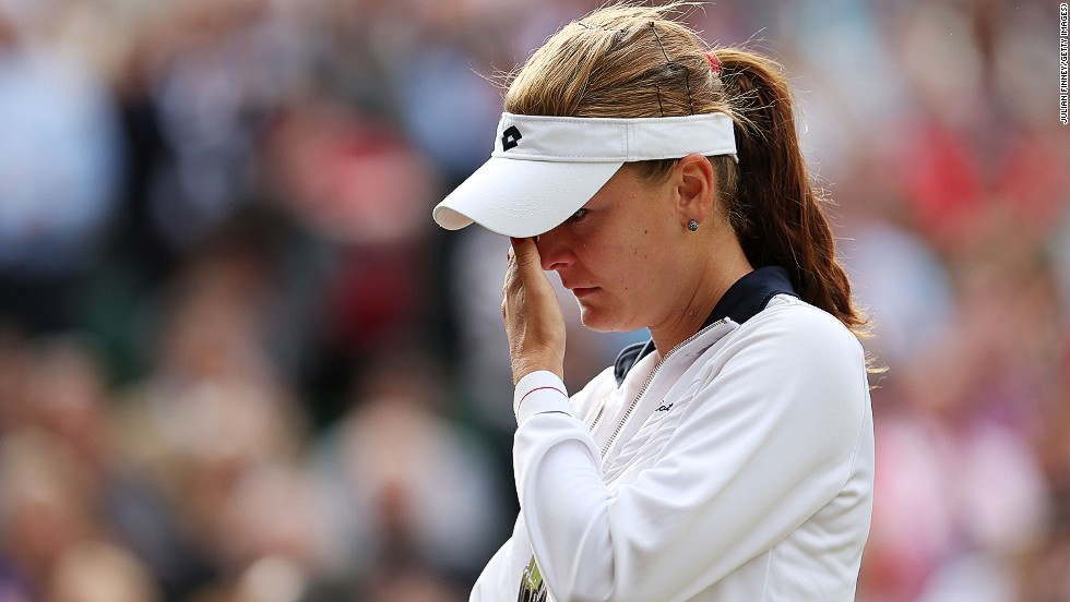 The Pole, still seeking her first grand slam title, had dropped to ninth in the rankings when they split after only a few months together in April 2015.