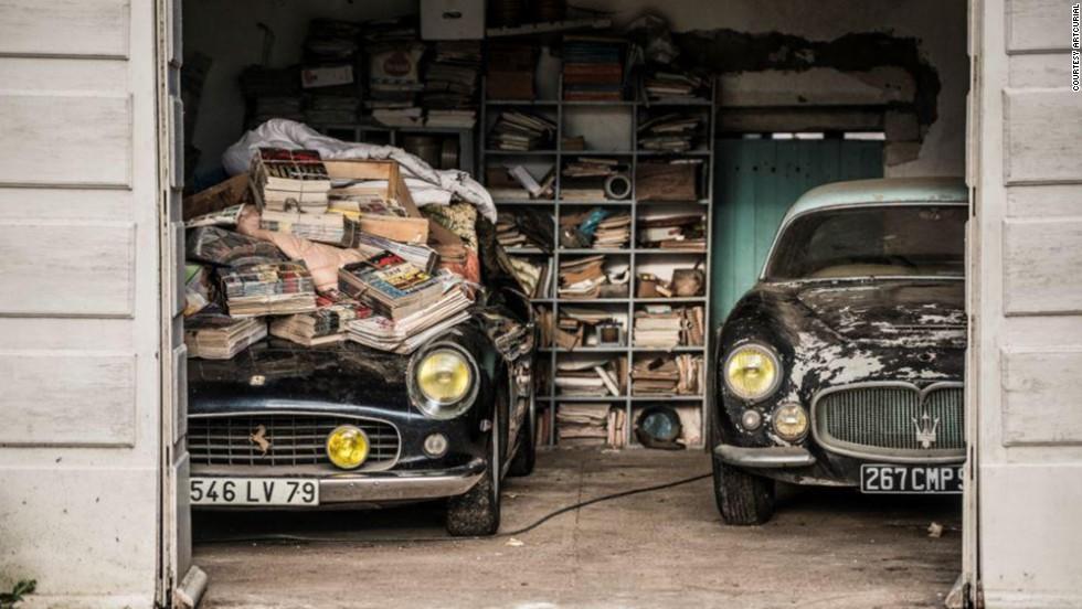 $14 million car found under magazines? - CNN Video